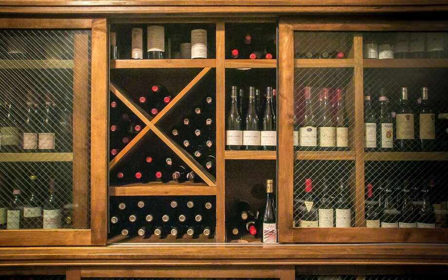 The wine storage (Special to the Chronicle)