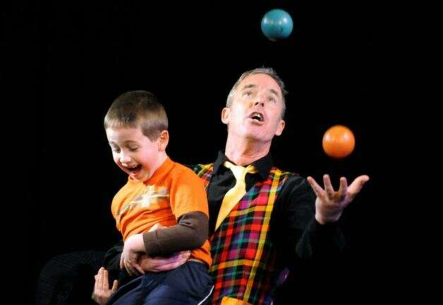 JuggleMania with Dan Foley, Dec. 30, 2012,  ? 11:am & 3:pm, returns to Steamer No.10 Theatre ? 500 Western Ave ? Albany ? 12203