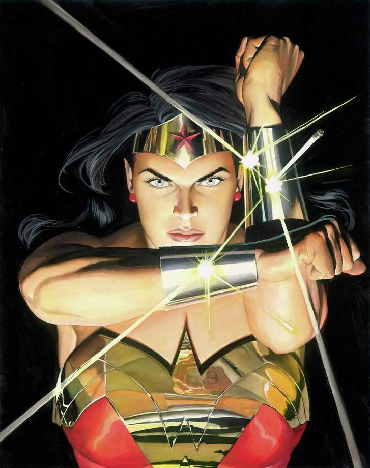 Alex Ross, Mythology: Wonder Woman, 2005, courtesy of the artist, tm c. DC Comics. Used with permission. (Courtesy Norman Rockwell Museum)