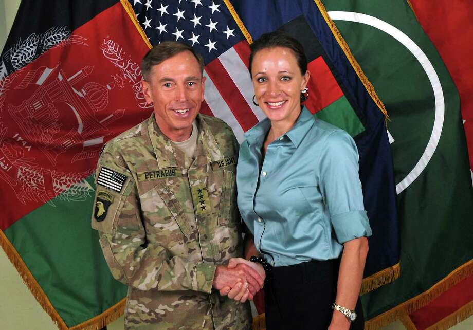 9. CIA Director David Petraeus resigns after admitting to an affair with his biographer.  Photo: Associated Press / ISAF