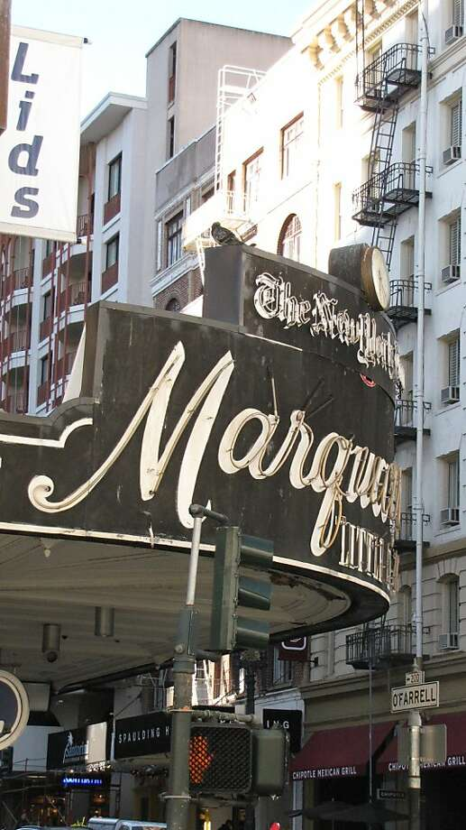 Marquard's Little Cigar Store  201 O'Farrell St. Photo: John King, The Chronicle