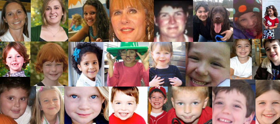Six adults and 20 children were killed in a school shooting in Newtown, Conn., on Dec. 14. Pictured