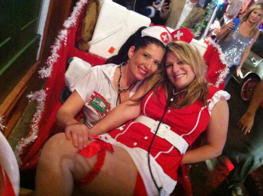 It's just not Christmas without frolicking Naughty Nurses. Um, sure.