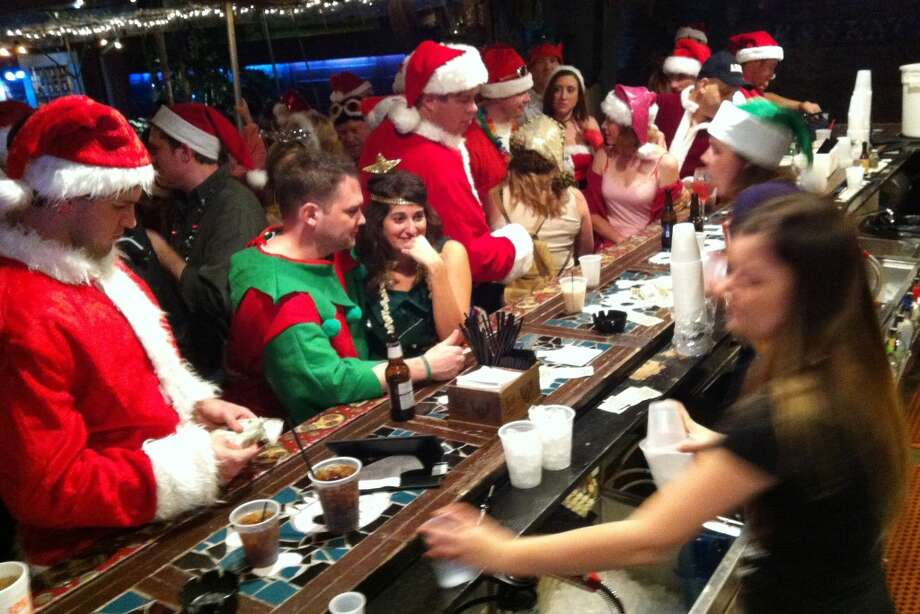 Nothing like a bar full of Santas at the House of Blues. Really. Nothing like it.