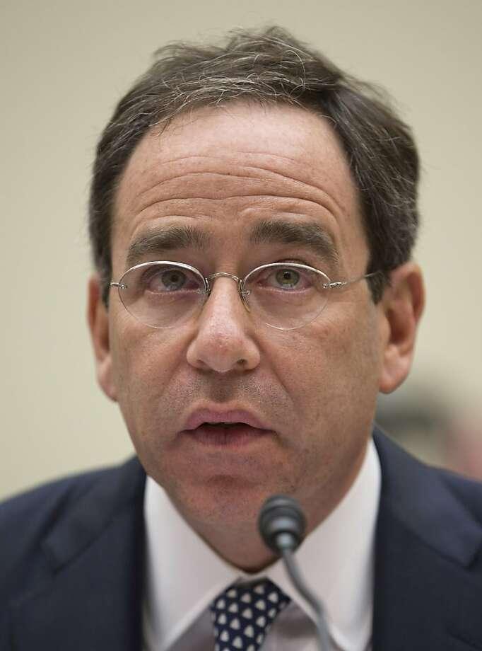 Deputy Secretary of State Thomas Nides testifies at a hearing. Photo: Evan Vucci, Associated Press