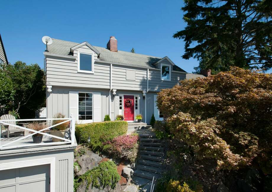 Magnolia is one of Seattle's most unique neighborhoods: close to downtown, but set apart, with great views in several directions. Here are some homes listed there for around $600,000, starting with 2608 W. Galer St. The 2,670-square-foot house, built in 1940, has three bedrooms, 1.5 bathrooms, French doors, two fireplaces, a rec room and two decks on a 4,900-square-foot lot. It's listed for $589,000. Photo: Aaron Leitz /Courtesy Virginia And Whitney Mason/Coldwell Banker Bain