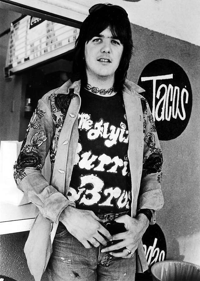 Gram Parsons helped define country-rock as a member of the International Submarine Band, the Byrds and the Flying Burrito Brothers, and as a solo artist singing with Emmylou Harris. Photo: Rhino Records, AP