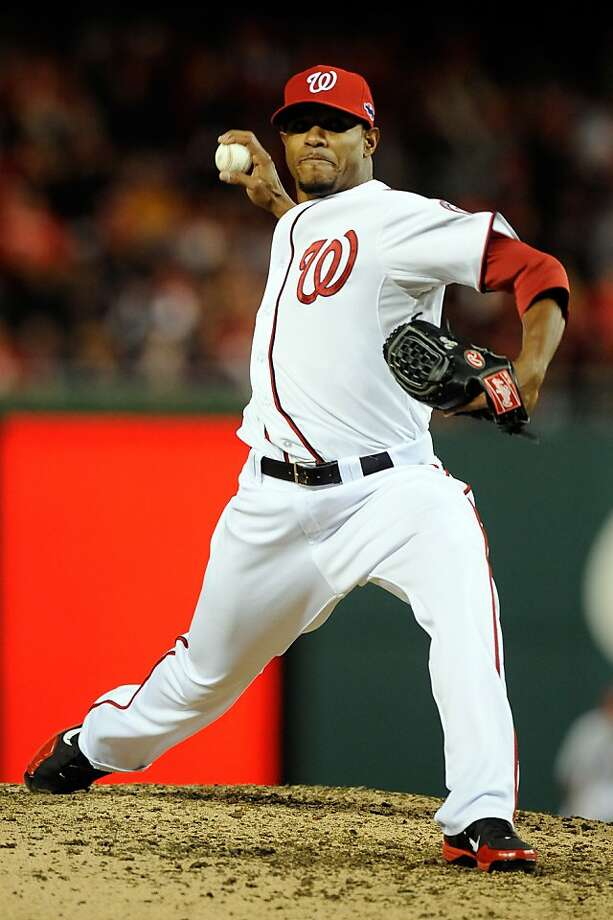 Edwin Jackson, who is joining the Cubs, went 10-11 with a 4.03 ERA for Washington last season. Photo: Patrick McDermott, Getty Images