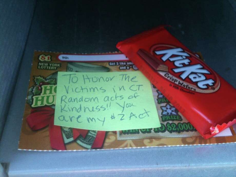 #26Acts: 26 acts of kindness to honor the victims in CT. This one was for my mailman.