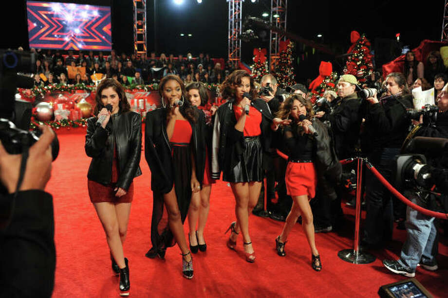 THE X FACTOR:  Finalist Fifth Harmony arrives on the red carpet during  THE X FACTOR Finale, Thursday, Dec. 20 (8:00-9:00PM ET/PT) on FOX.  CR: Ray Mickshaw / FOX.
