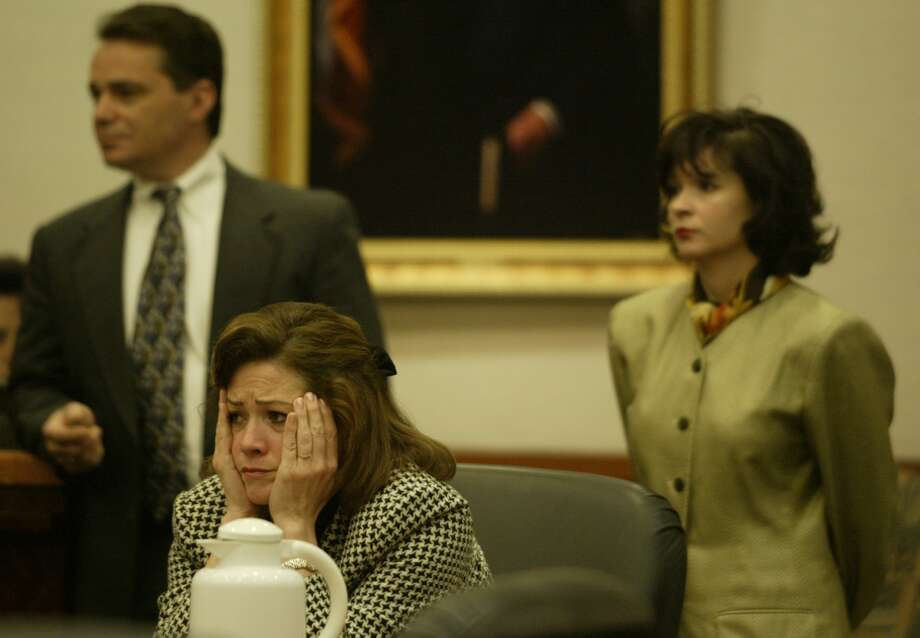 Harris at her trial in 2003.