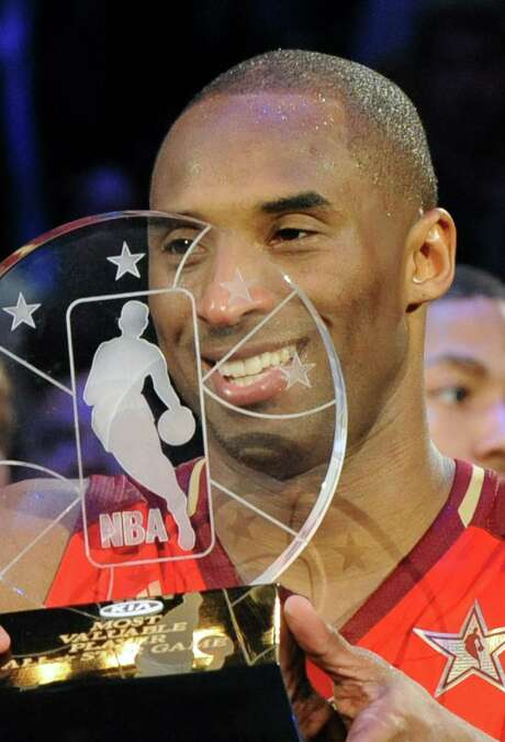 All-Star MVP awards in odd-numbered years have become the recent norm for Kobe Bryant. Photo: MARK RALSTON, Staff / AFP