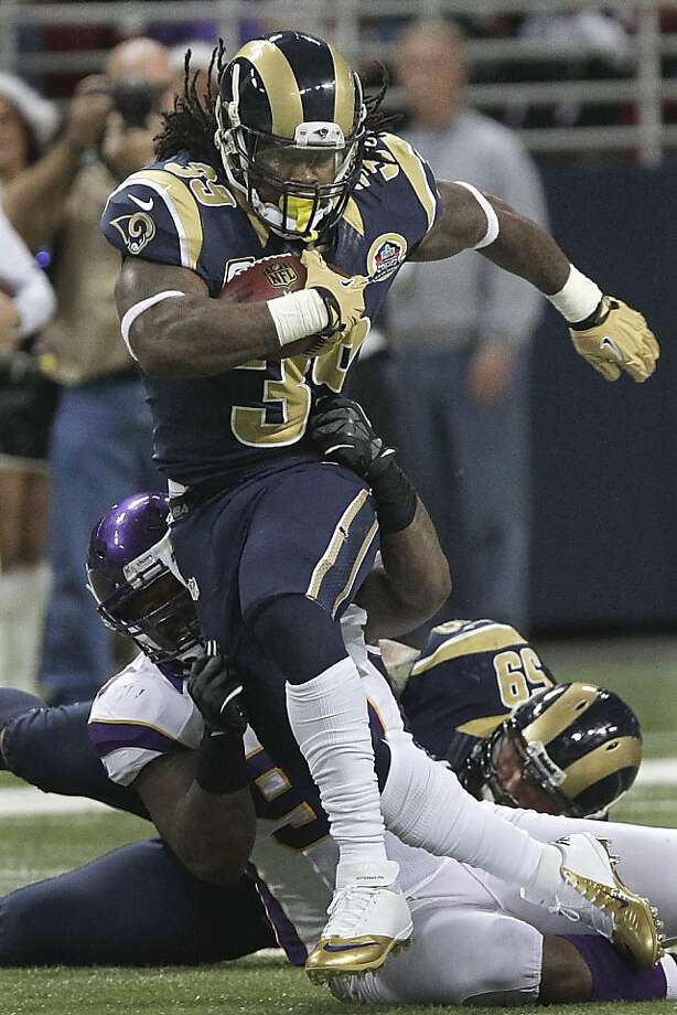 Steven Jackson will join elite company with 91 more rushing yards this year. Photo: Seth Perlman, Associated Press