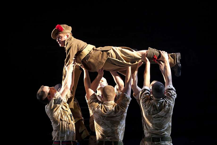 "ACT brings in National Theatre of Scotland's acclaimed ""Black Watch"" to close out the season. Photo: Scott Suchman"