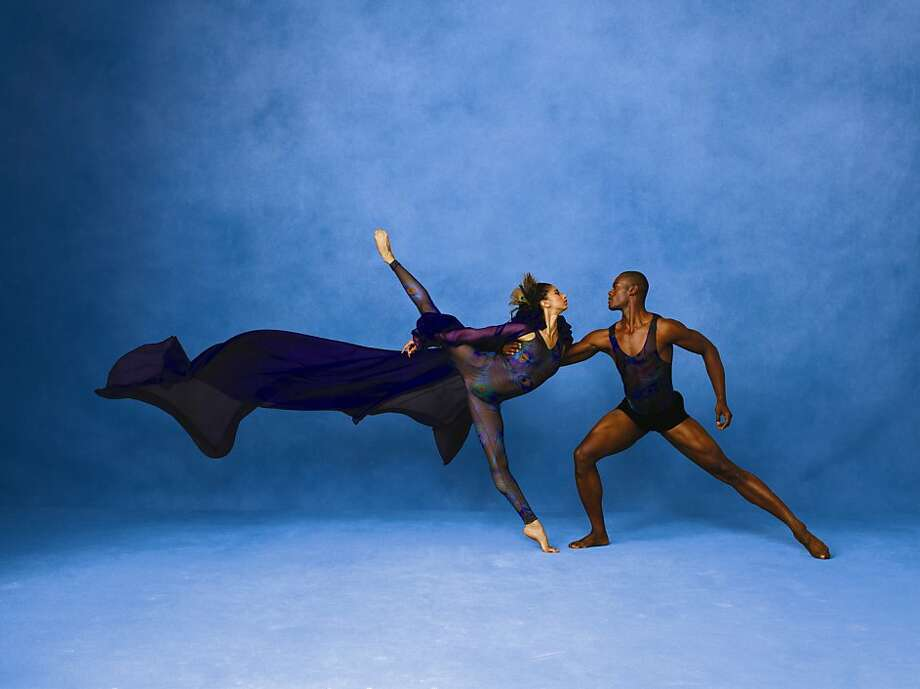 Alicia Graf Mack and Jamar Roberts of Alvin Ailey American Dance Theater. Photo: Andrew Eccles