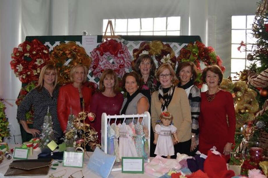 Participating in The Giving Fund charity luncheon were, from left, Jill Pankosky, Barbara Kelly, Gail Jones, Diane Musicaro, Kathy Lavery, Chris Falco, Laurie McGrath and Nancy Powell. Photo: Contributed