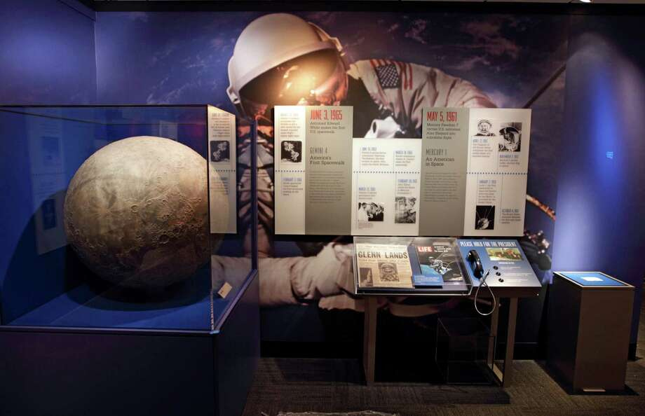 "The ""Man in Space"" room is part of the permanent core exhibits. Photo: Erich Schlegel, Houston Chronicle / ©2012 Erich Schlegel"
