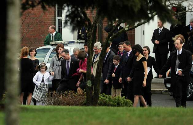 A Memorial Mass for Grace McDonnell, a student victim of the Newtown shootings, is held Friday, Dec. 21, 2012 at St. Rose of Lima Roman Catholic Church in Newtown, Conn. Photo: Autumn Driscoll / Connecticut Post