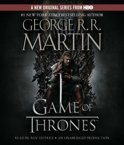 "The audiobook version of George R.R. Martin's ""A Game of Thrones"""