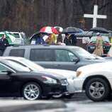 A Memorial Mass for Grace McDonnell, a student victim of the Newtown shootings, is held Friday, Dec. 21, 2012 at St. Rose of Lima Roman Catholic Church in Newtown, Conn.