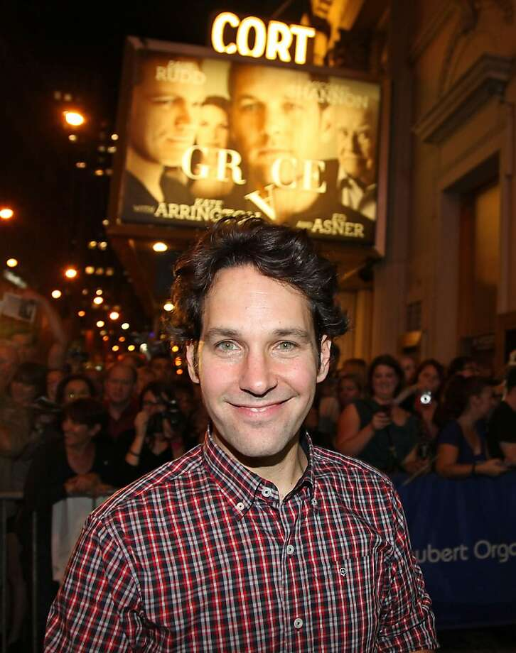 "After ""This is 40"" and the Broadway drama ""Grace,"" Paul Rudd feels ready to plunge into ""Anchorman 2."" Photo: Rob Kim, Getty Images"
