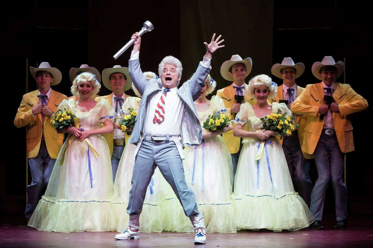 """As recently as June, Houston's Theatre Under the Stars mounted a revival of Larry L. King's 1978 musical """"The Best Little Whorehouse in Texas."""" Michael Tapley played Melvin P. Thorpe, a character broadly based on Marvin Zindler."""
