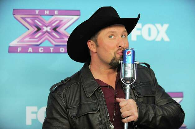 "Tate Stevens, winner of ""X Factor"" season 2, attends the season finale results show at CBS Television City on Thursday, Dec. 20, 2012, in Los Angeles. (Photo by Jordan Strauss/Invision/AP) Photo: Jordan Strauss"