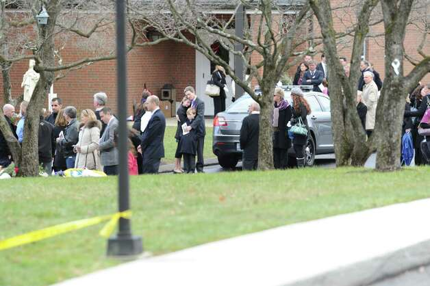 Funeral Mass for Sandy Hook Elementary School student Olivia Rose Engel at St. Rose of Lima Roman Catholic Church in Newtown, Friday afternoon, Dec. 21, 2012. Photo: Bob Luckey / Greenwich Time