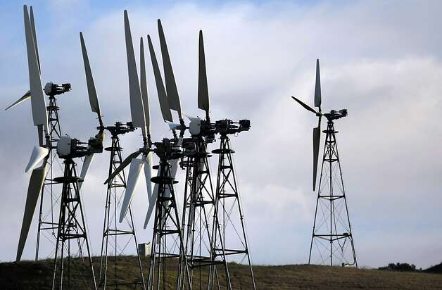 Wind-power developers are racing to take advantage of a tax credit. Photo: Adm Golub, The Chronicle