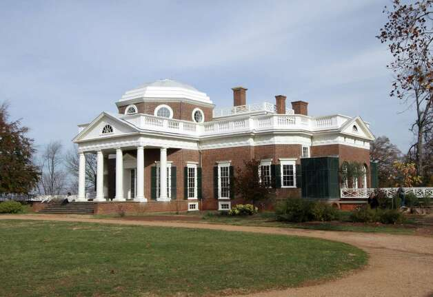 Monticello, Thomas Jefferson's home, was surrounded by colorful fall foliage on a pleasant afternoon several weeks ago. Photo: Forrest M.  Mims III, For The Express-News / ALL RIGHTS RESERVED.