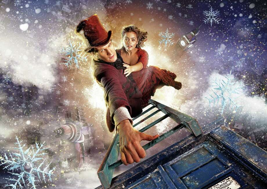 """BBC's long-running series """"Doctor Who"""" will present its 2012 holiday  special, """"The Snowmen,"""" on BBC America at 8 p.m. on Christmas. It will introduce the Doctor's new companion, Clara (Jenna-Louise Coleman). / MCT"""