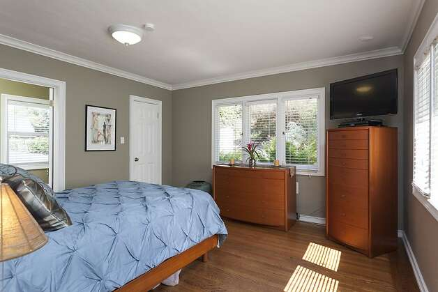 The master suite. Photo: Scott Hargis/SF