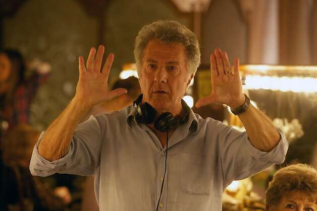 "Dustin Hoffman, on the ""Quartet"" set, finally directed a film at 75, thinking, ""If not now, when?"" Photo: Weinstein Co."