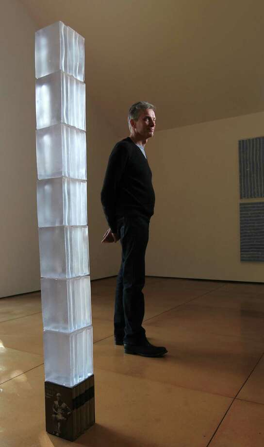 """Architecture,"" a cast-resin sculpture by artist Joseph Havel, is on display at Hiram Butler Gallery. Photo: Karen Warren, Staff / © 2012 Houston Chronicle"