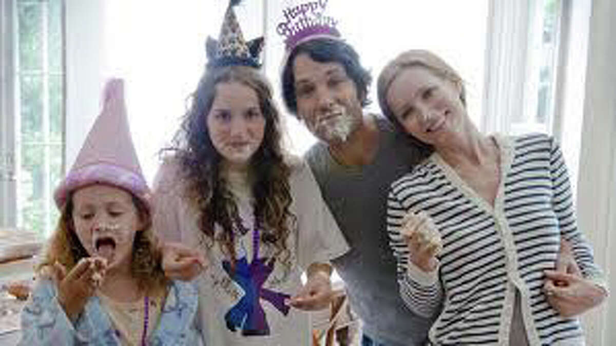 """Paul Rudd and Leslie Mann star in the new movie comedy, """"This is 40,"""" by director Judd Apatow."""