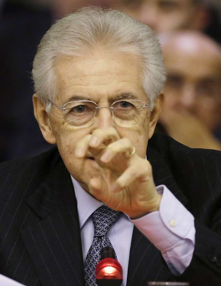 Mario Monti is still expected to be a major player in government and may run again. Photo: Gregorio Borgia, Associated Press