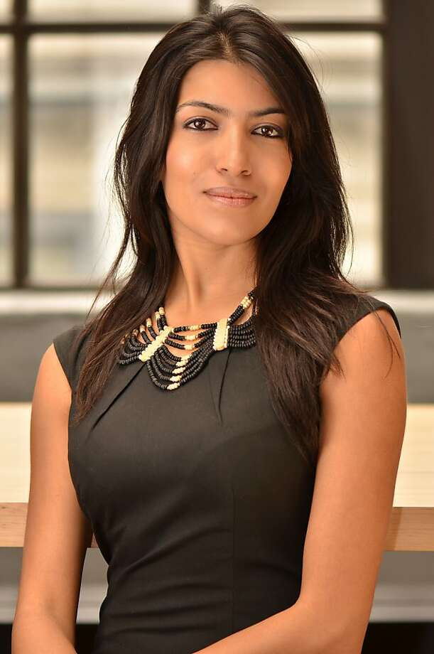Leila Janah's philanthropic business connects impoverished workers across the globe. Photo: Ved Chiravath