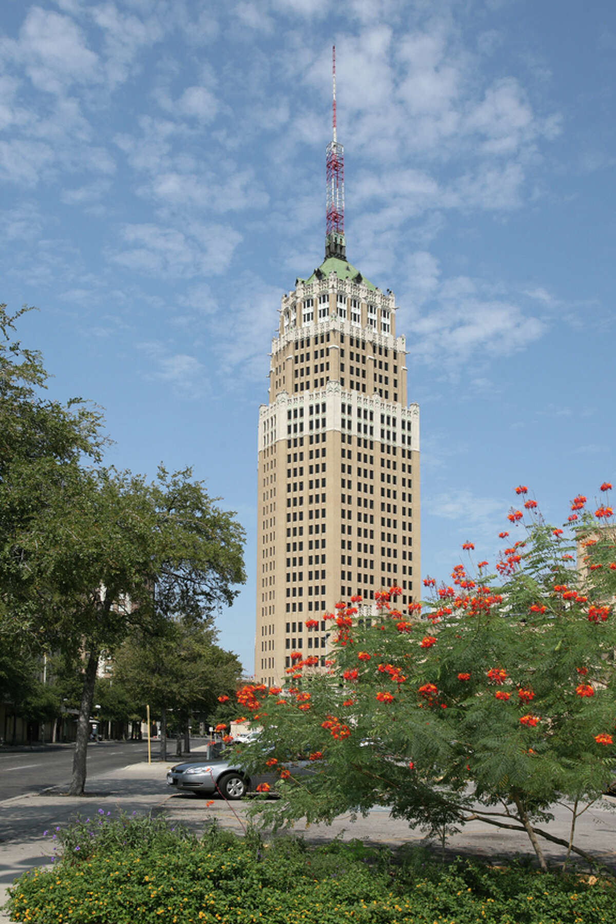 Originally called the Smith-Young Tower, the Tower Life Building was designed by Atlee B. Ayres and Robert M. Ayres.
