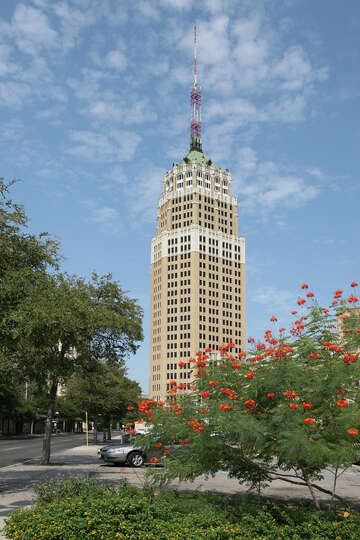 For 60 years the Tower Life Building was the tallest tower in San Antonio. With its mixed bri