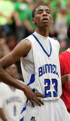Issac Vann, Bunnell high school, during a boys basketball game against Stratford high school against played at Bunnell high school, Stratford, CT on Saturday, December 22nd, 2012. Photo: Mark Conrad / Connecticut Post Freelance