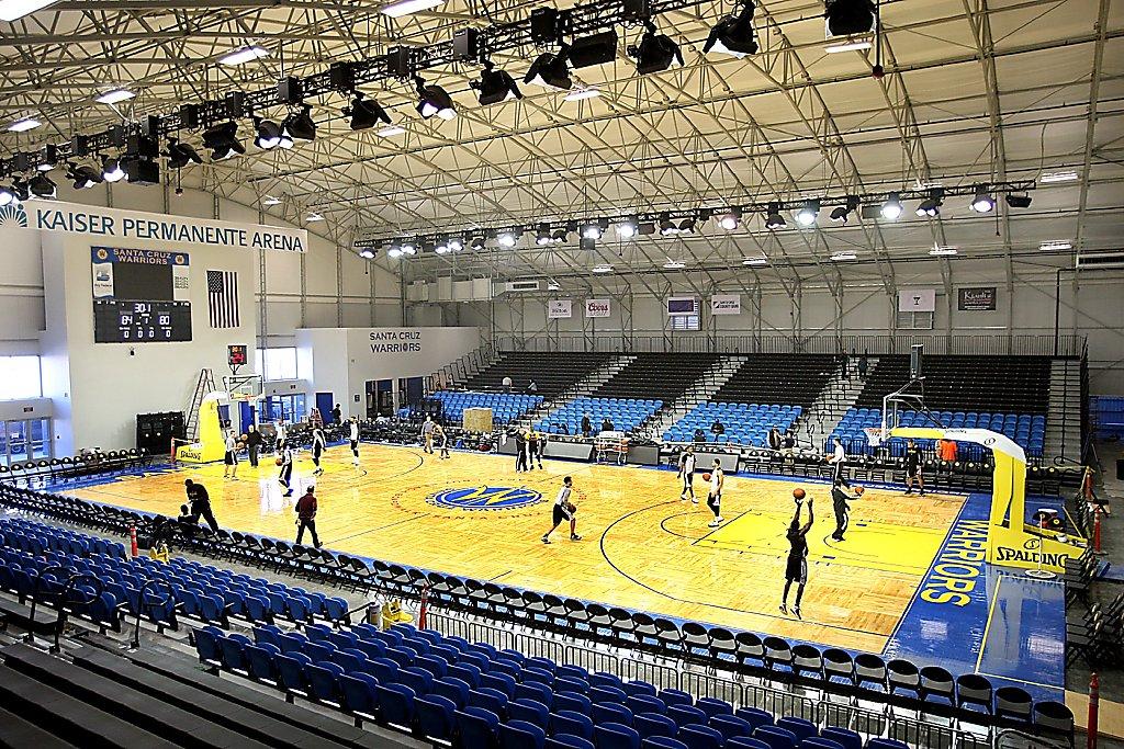 Santa Cruz Warriors open just-built arena - SFGate