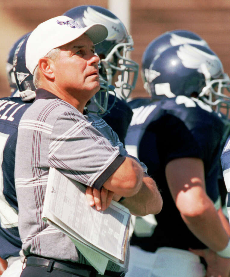 Ken Hatfield has a special connection to both Rice and Air Force, having served stints as head coach at both universities. Photo: Kevin Fujii, Staff / Houston Chronicle