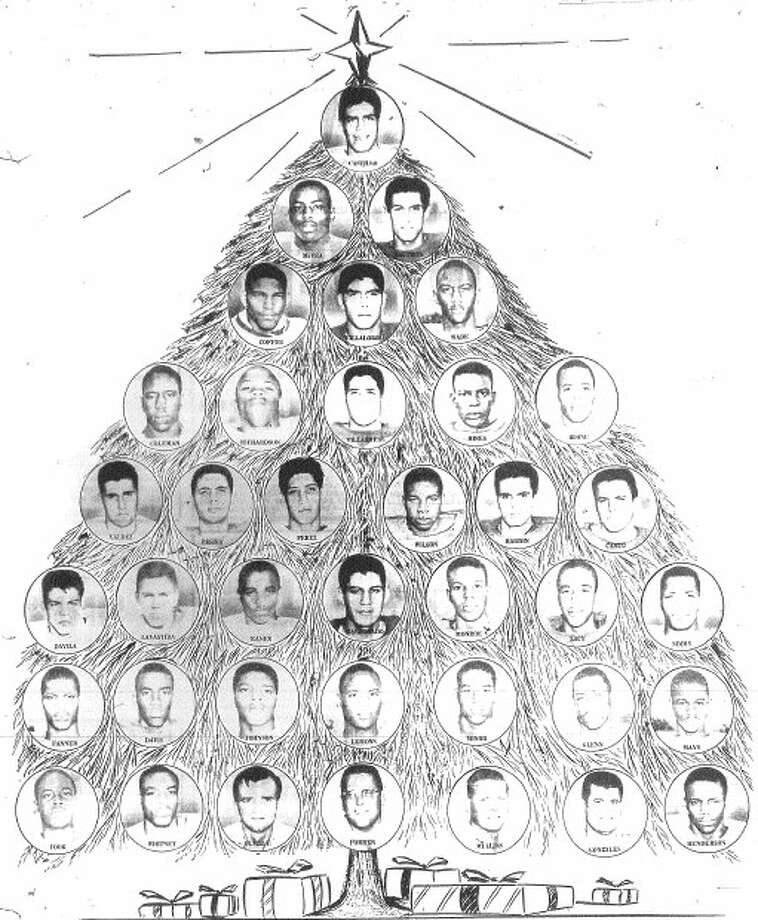 Christmas Tree San Antonio: Brackenridge Football 1962