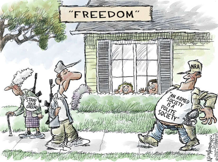 Land of the Free (Nick Anderson / Houston Chronicle)