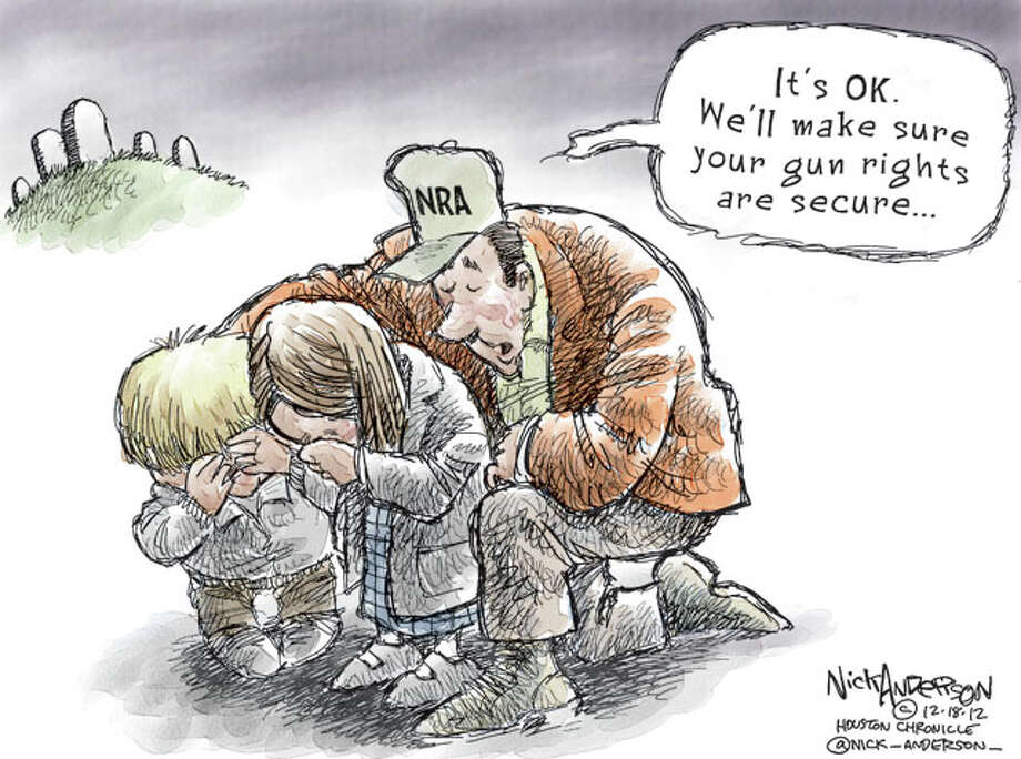 Aid and Comfort (Nick Anderson / Houston Chronicle)