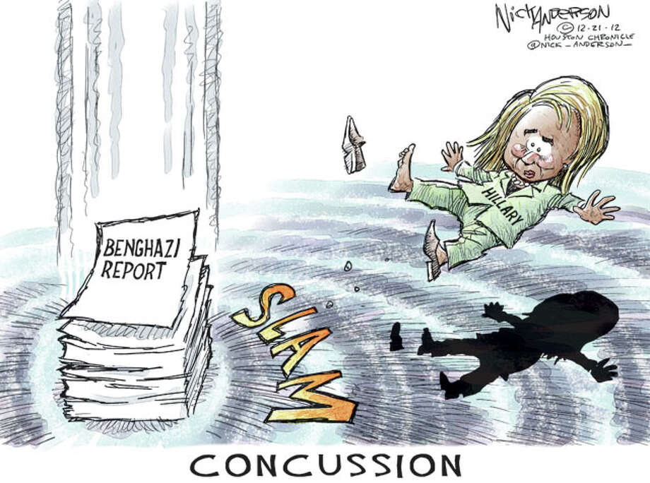 Concussion  (Nick Anderson  / Houston Chronicle)
