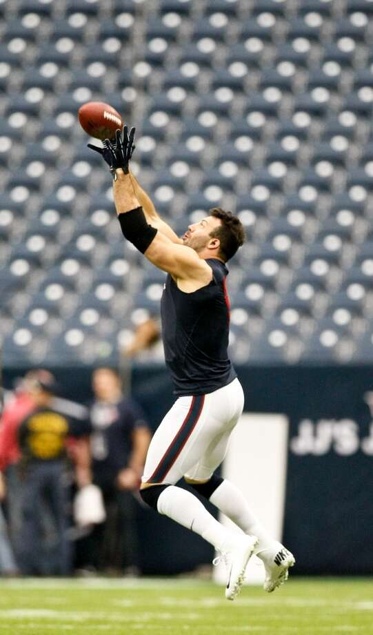 But you might see his teammate, Connor Barwin, there. And you can give Connor Barwin your phone number, and he'll pass it along to J.J. Watt.