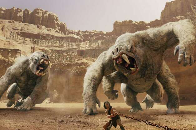 """John Carter"" starts off with a protracted battle scene in which the audience doesn't know who's fighting or whom they should be rooting for. And that was just the first mistake in this misbegotten ""Avatar"" wannabe, which, despite considerable competition, had some of the worst 3-D effects of the year."
