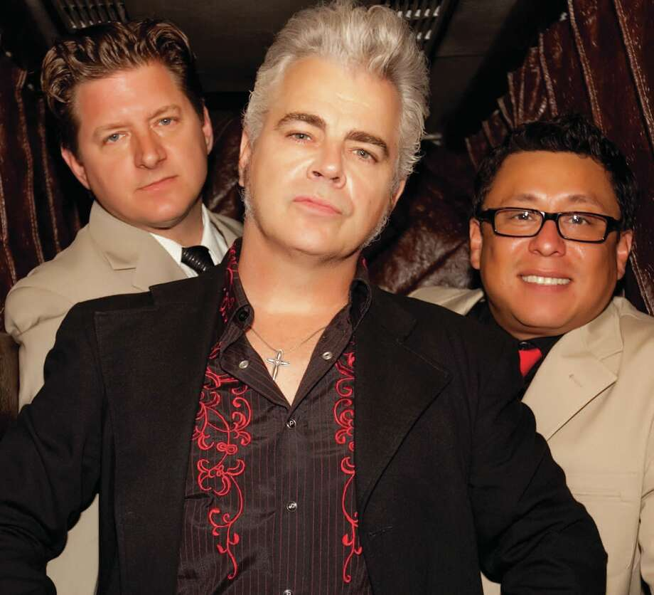 Musician Dale Watson (center) with Chris Crepps, left, and Mike Bernal. Photo: COURTESY PHOTO