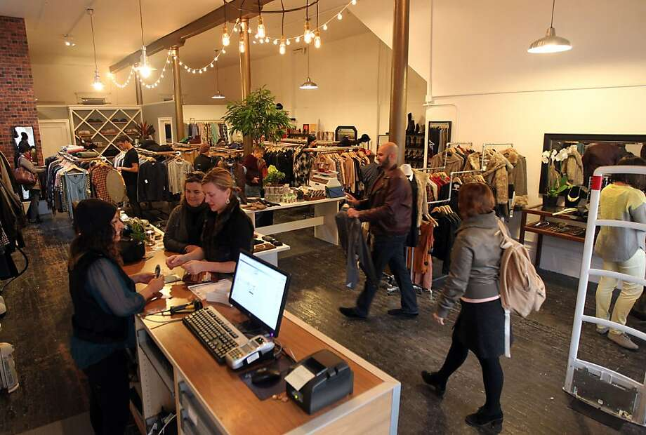 Cary Lane offers merchandise specifically selected for its new Mission District location. Photo: Lance Iversen, The Chronicle